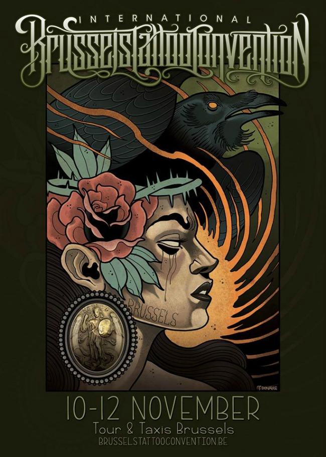 invitations pour la brussels tattoo convention ! - art corpus